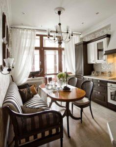 Кухонный уют: как выбрать диван для кухни?