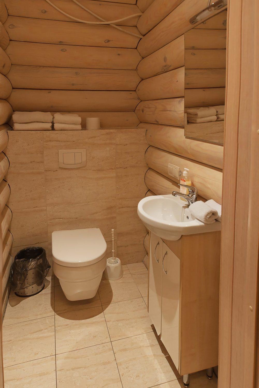 санузел в деревянном доме своими руками фото противень