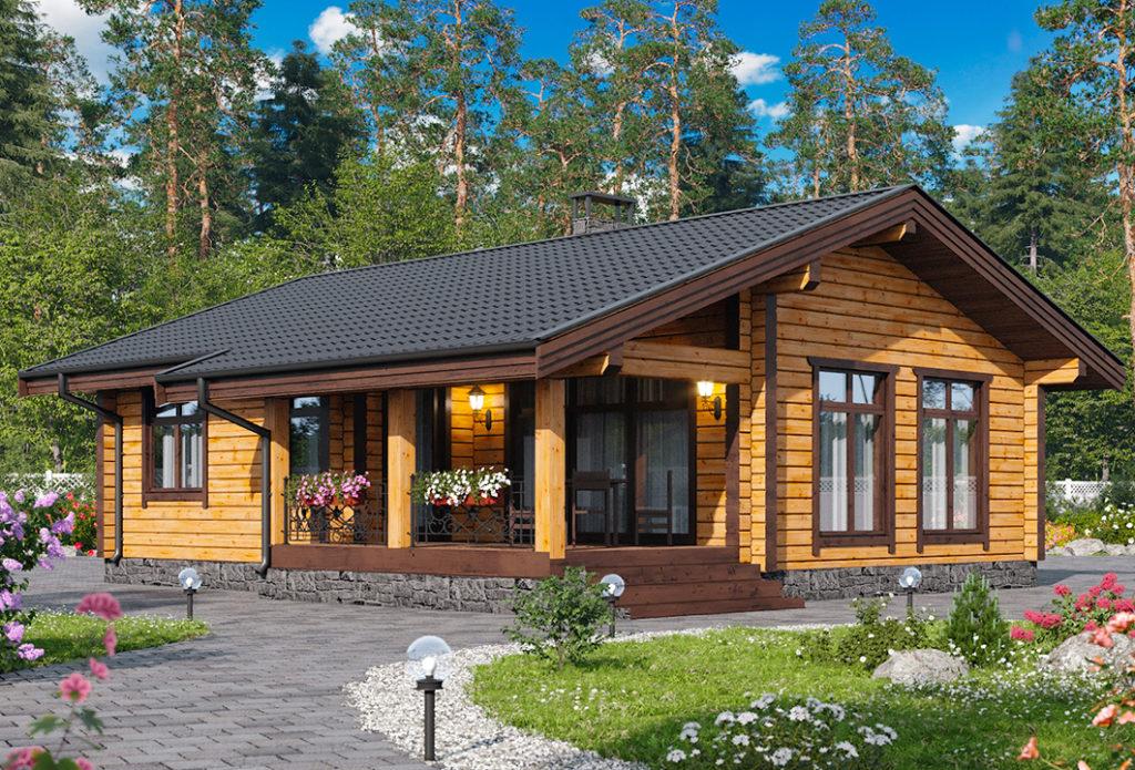 Как построить бревенчатый дом. Выбор древесины, способ монтажа и пропитка бревенчатого дома