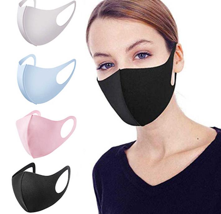Защитные маски для лица.