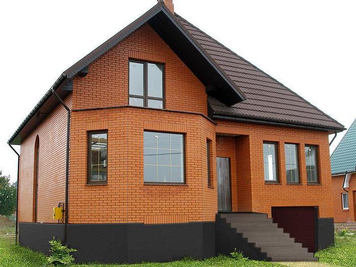 Дома из кирпича – плюсы и минусы